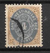 Antillas Danesas  - AFA 7B - Usado