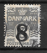 Danmark  - AFA 117x - Stemplet