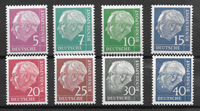 Allemagne 1961 - AFA 1142A-1217A - Neuf