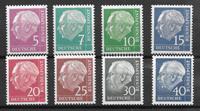 Alemania 1961 - AFA 1142A-1217A - Nuevo