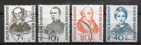 Allemagne 1955 - AFA 1185-88 - Oblitéré