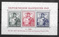 Alemania - Zonas 1949 - AFA 103-05 blok - Nuevo