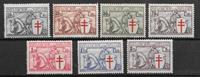Belgique 1934 - AFA 385-391 - Neuf avec charnière