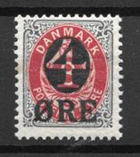 Danemark 1904 - AFA 40B - Neuf