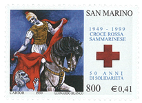 Saint-Marin - Croix Rouge - Timbre neuf