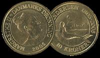 Den lille havfrue 10 kr. alm