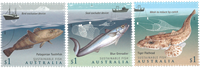 Australien - Fisk - Postfrisk sæt 3v