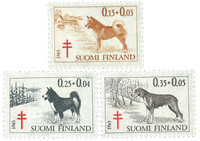 Finland - LAPE 599-601 - Postfrisk