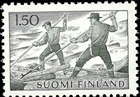 Finland - LAPE 581Y - Postfrisk