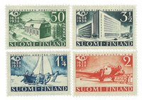 Finlande - LAPE 213-216 - Neuf
