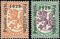 Finland - LAPE 137-138 - Postfrisk