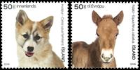 Islande - Les petits des animaux de la ferme - Séire neuve 2v