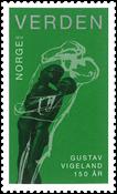 Norge - Gustav Vigeland - Postfrisk frimærke