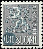 Finland - LAPE 605IIY - Postfrisk