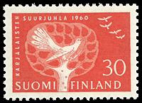 Finland - LAPE 521 - Postfrisk
