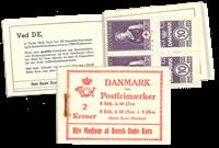 Danmark - 2 kr hæfte stålstik  - afa nr.12