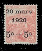 Monaco - 1920 -  Y&T 38, neuf