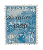 Monaco - 1920 -  Y&T 40, neuf