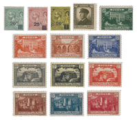 Monaco - 1922/1923 - Y&T 51/64, nuovo