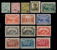 Monaco - 1922/1923 - Y&T 51/64, neuf