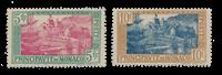 Monaco 1924/1933 - Y&T 102/103, neuf