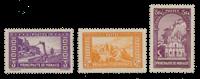 Monaco - 1933/1937 - Y&T 130/132, neuf