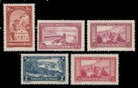Monaco - 1933/1937 - Y&T 126/129, neuf