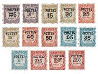 Monaco 1937 - YT 140-153 - Postfrisk
