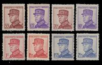 Monaco - 1937/1939 - Y&T 159/166, neuf