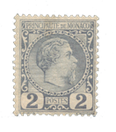 Monaco - 1885 - Y&T 2, neuf