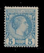 Monaco 1885 - YT 3 - Postfrisk