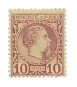Monaco - 1885 - Y&T 4, neuf