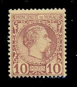 Monaco 1885 - YT 4 - Postfrisk