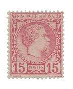 Monaco - 1885 - Y&T 5, neuf
