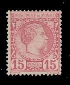 Monaco 1885 - YT 5 - Postfrisk