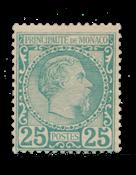 Monaco 1885 - YT 6 - Postfrisk