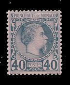 Monaco 1885 - YT 2 - Postfrisk