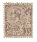Monaco - 1891/1894 - Y&T 19, neuf