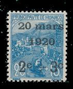 Monaco - 1920 -  Y&T 35, neuf