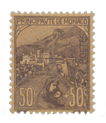 Monaco - 1919 - Y&T 31, neuf