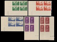 Monaco - 1937 - Y&T 135/139, neuf