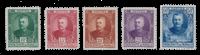 Monaco - 1923/1924 - Y&T 65/69, neuf