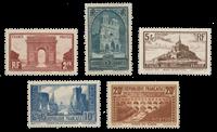 Frankrig - 1929 -Y&T 258/262 - Postfrisk