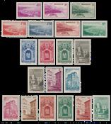 Monaco - 1939/1941 - Y&T 169/183, nuovo