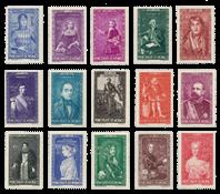 Monaco - 1942 - Y&T 234/248, neuf