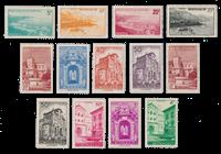 Monaco - 1948/1949 - Y&T 307/313C, neuf