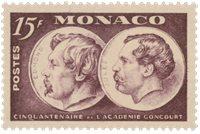 Monaco - 1951 - Y&T 352, neuf