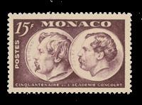 Monaco - 1951 - Y&T 352, nuovo