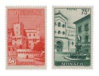 Monaco - 1954 - Y&T 397/398, neuf