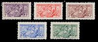Monaco - 1955 - Y&T 415/419, nuovo
